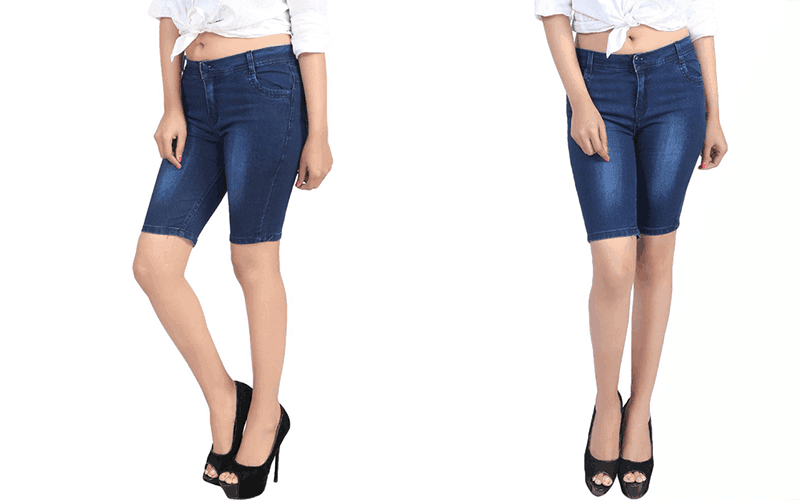 Beautiful Denim Shorts for Women. Check out our store for best offers